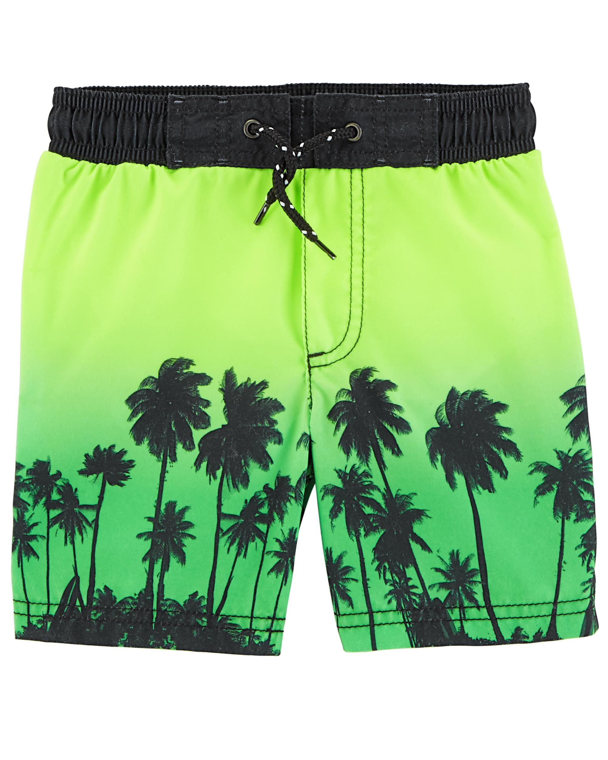 a960737805 Palm Tree Swim Trunks | SWIM | Boys swimwear, Baby boy swimwear ...