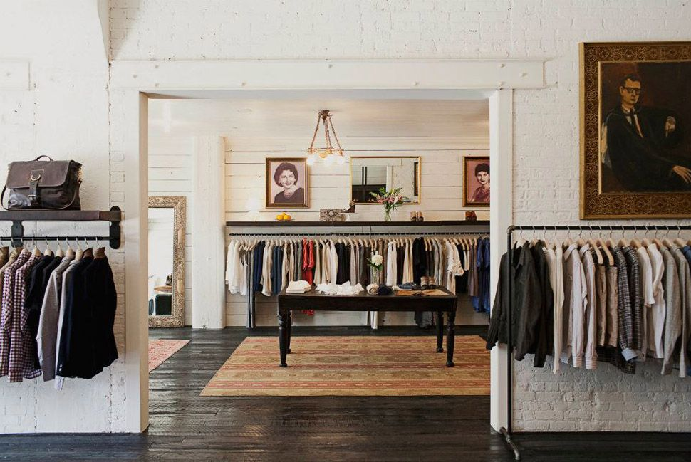 The 50 Best Menswear Shops in America Store interiors