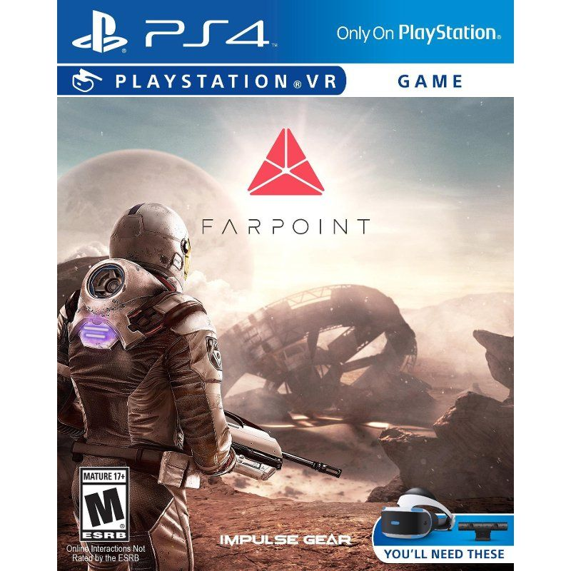 Farpoint Vr Ps4 Playstation Playstation 4 Console Ps4