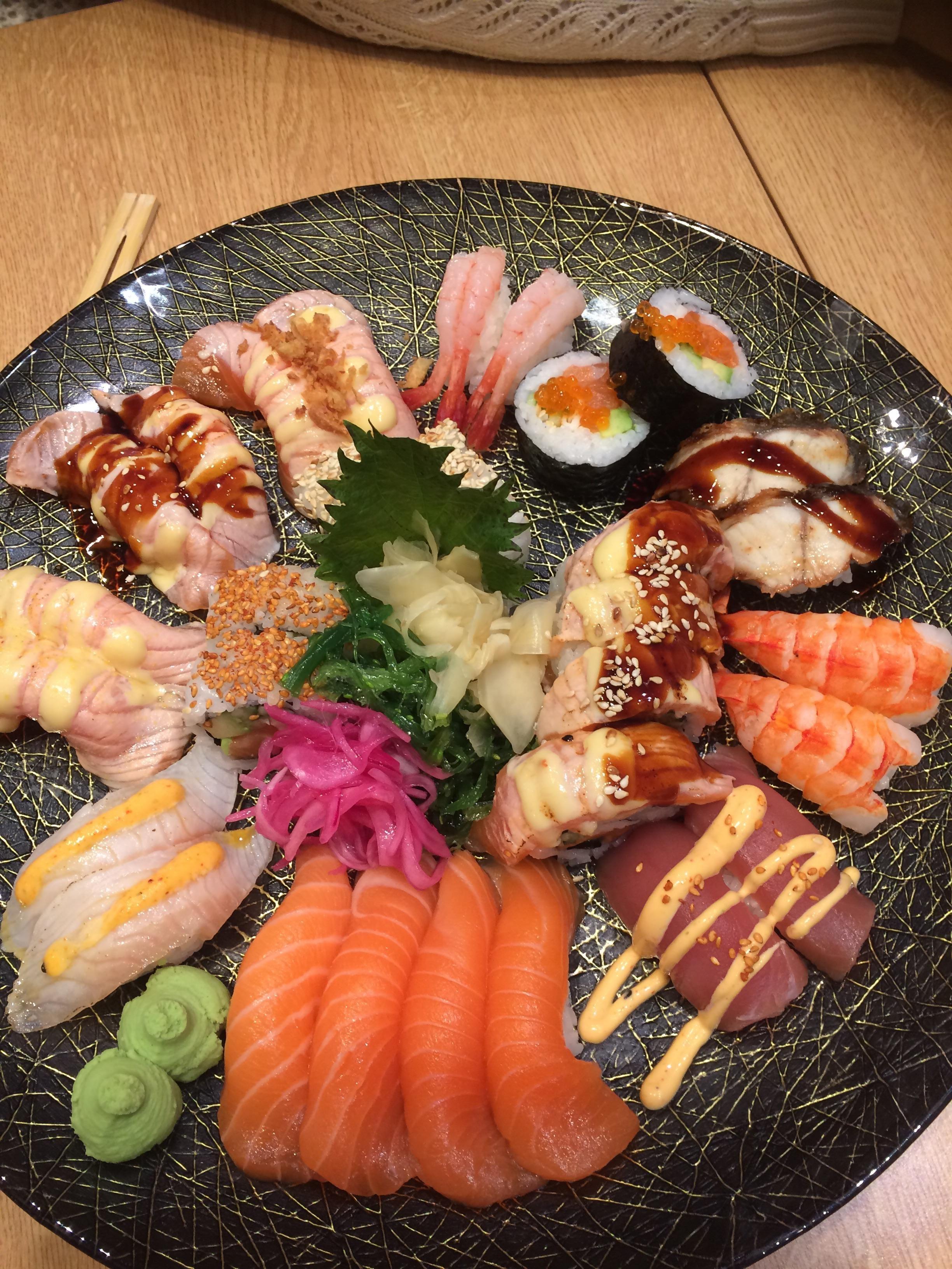 Matsu great sushi place in stockholm sushi food