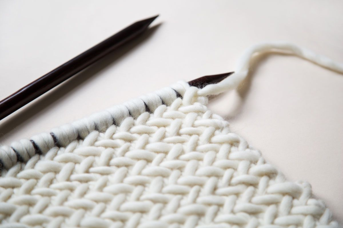 HOW TO KNIT HERRINGBONE STITCH | WATG Blog...With YOUTUBE Video ...