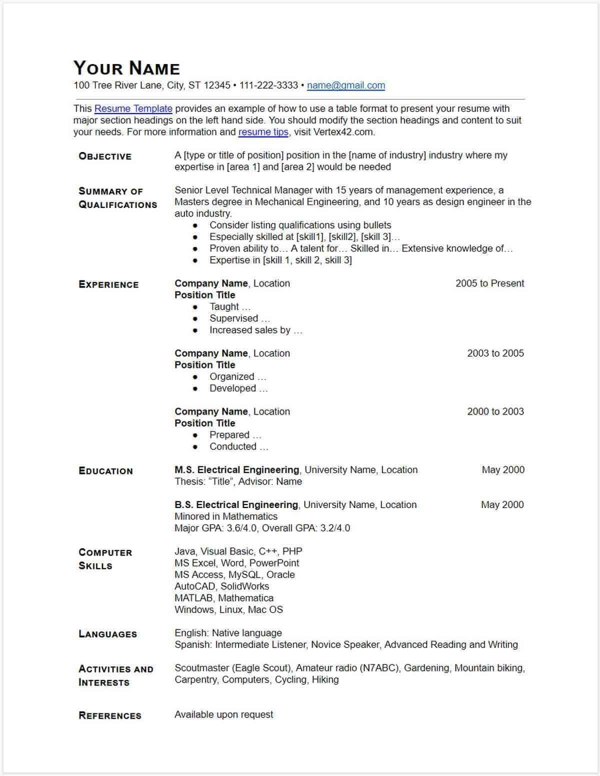 downloadable resume template 30 google docs modern cv pdf attractive templates free download clinical research format for freshers