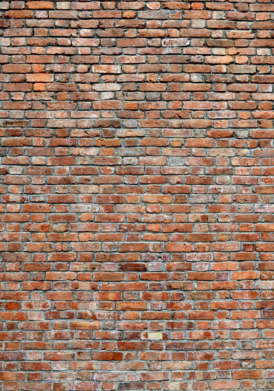 Red Brick Wall Texture Portrait By Corner Croft Mockups On
