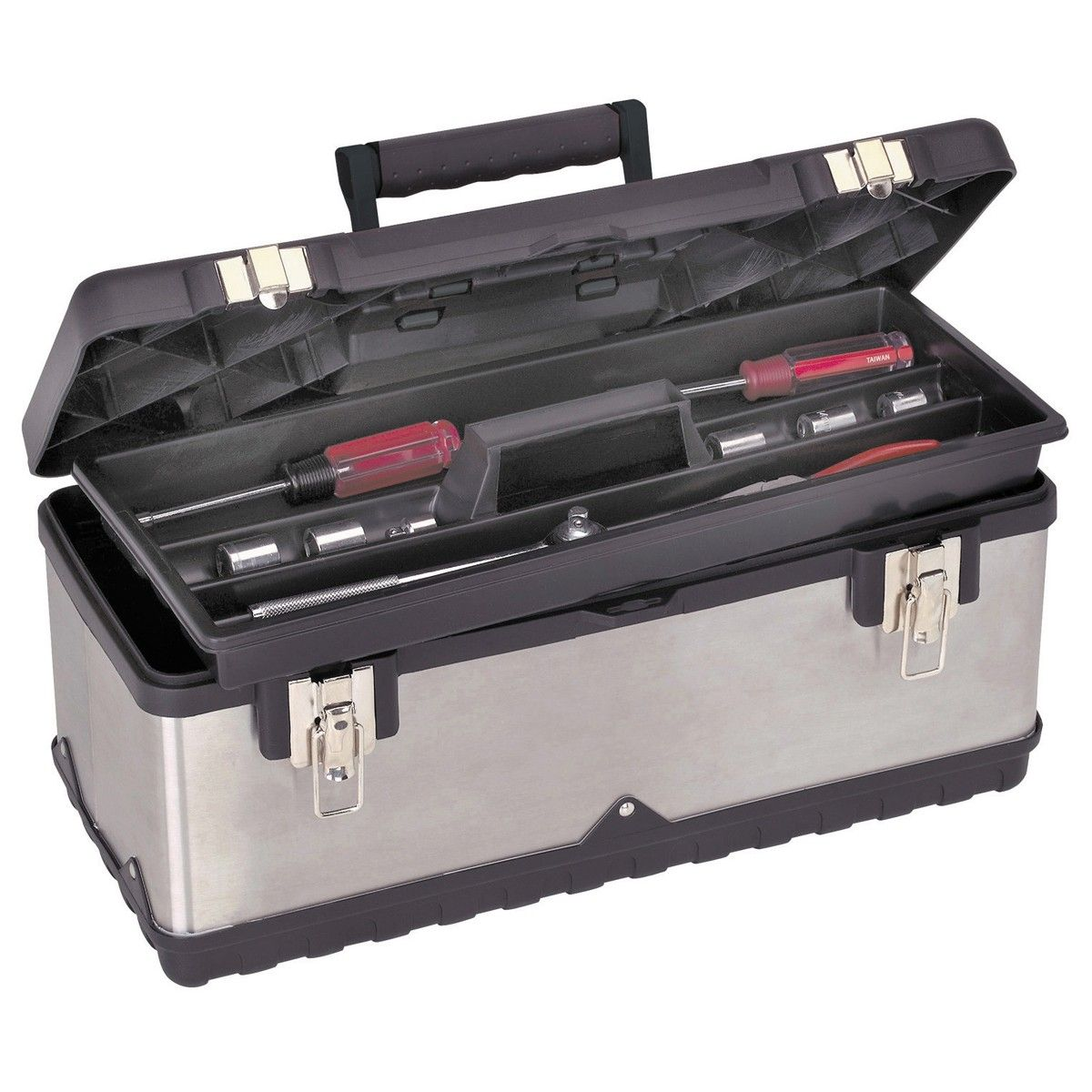 20 in. Stainless Steel Toolbox Tool box, Steel tool box
