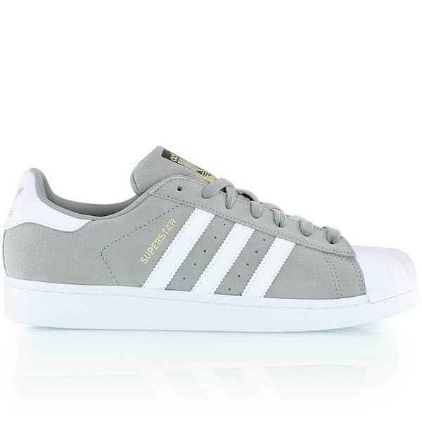 adidas gris et blanc