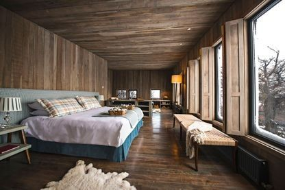 The world's sexiest hotel bedroom has been named: Awasi, Patagonia, Chile 'Secluded cabins amidst Patagonian triple peaks, eco-awareness, and they've bothered to make their villas and bathrooms wheelchair accessible; location, privacy and inclusivity wins hands down.' – Anita Kapoor, TV presenter