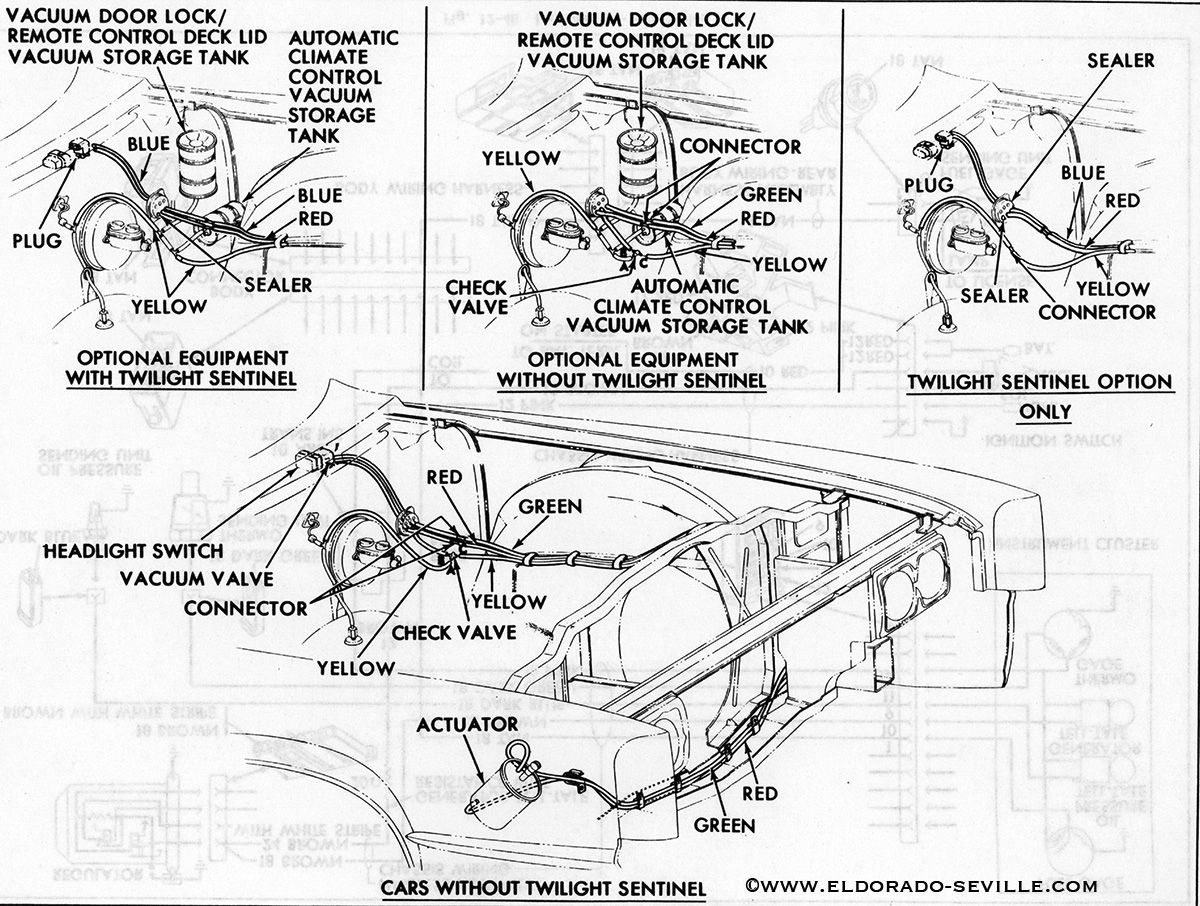 medium resolution of 1967 headlight vacuum diagram cadillac wiring diagram today 1967 headlight vacuum diagram cadillac