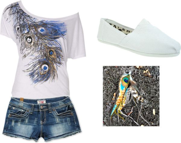 """""""peacock"""" by annie-newman on Polyvore"""