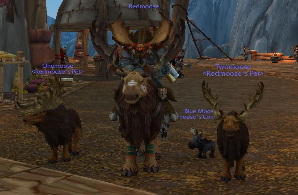 I See Your Vulpera Riding Foxes With Their Fox Pets And I Raise You A Stag Party Warcraft W Warcraft Movie Warrior Transmog Warcraft Art