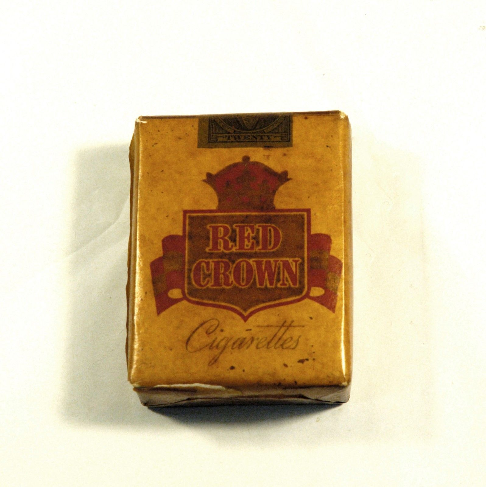 Vintage Antique WW2 1945 Red Crown Tobacco Cigarettes SEALED | eBay