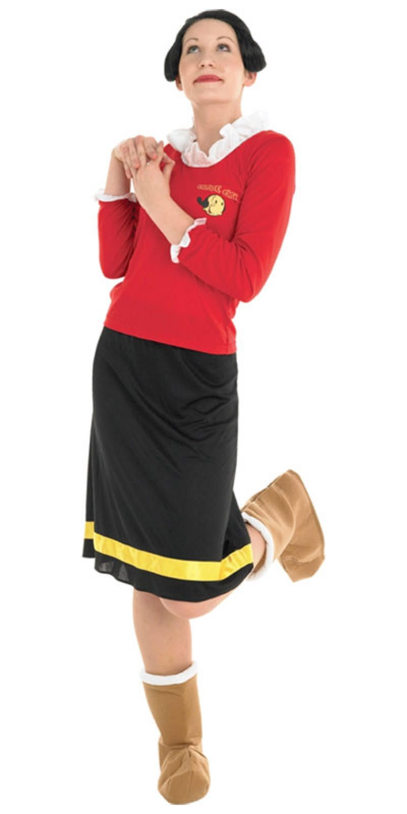 Olive oyl hairstyle google search halloween fall pinterest buy ladies popeye costume game costume cartoon costumes sailor costumes couple costume and olive oyl costume for quick despatch solutioingenieria Images