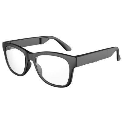 4ffdbf7eea9a Bone Conduction Wireless Bluetooth Glasses Headphone Myopia Frame ...
