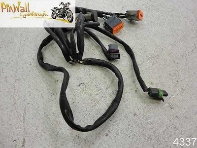 02-03 Harley Davidson FLH Touring ENGINE EFI WIRE HARNESS ... on