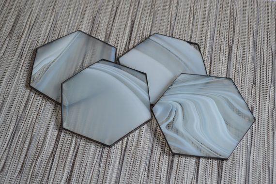 Modern Coasters Hexagon Drink Coaster Set Of 4 By Zangerglass