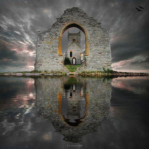 Castle Ruins, Loc Ard, Scotland