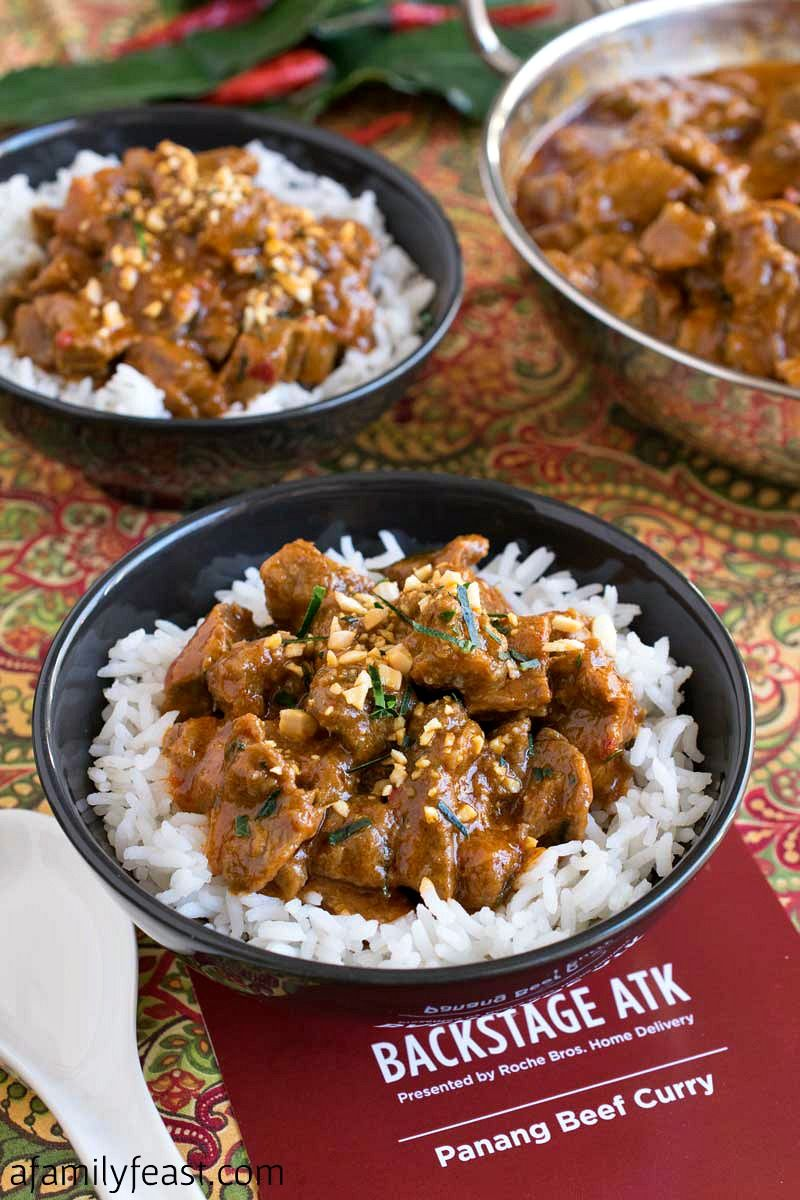 Panang Beef Curry Beef curry, Beef curry recipe, Curry