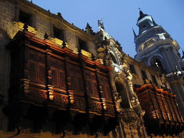 Arquitectura colonial del Lima, Perú. by Leandro Rodriguez | Diseño & Fotografía, via Flickr
