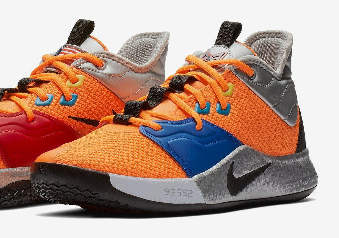 ba50b866dffd Nike PG 3 NASA Paul George Release Date  thatdope  sneakers  luxury  dope   fashion  trending