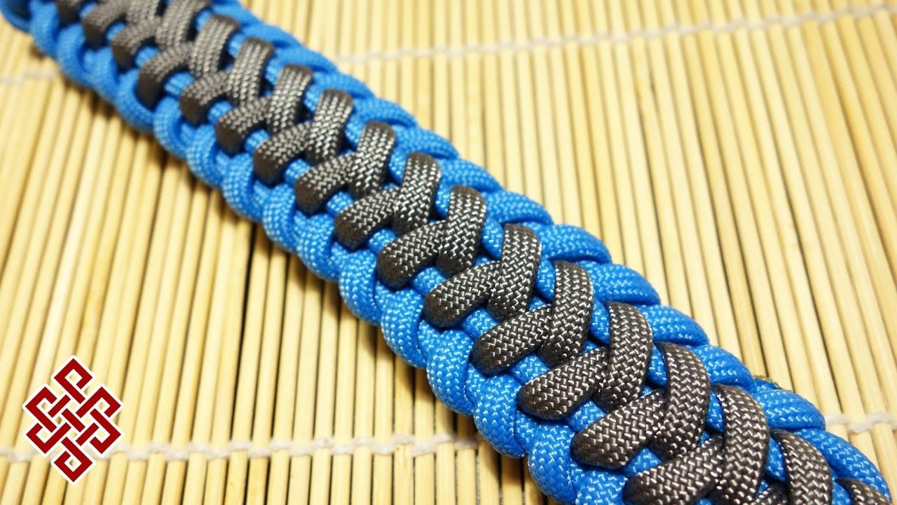 Wave Paracord Bracelet Tutorial With Images Paracord Bracelet