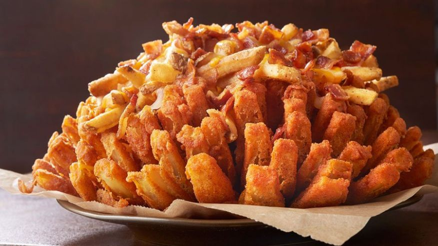 Outback steakhouse unveils 2300 calorie bloomin onion