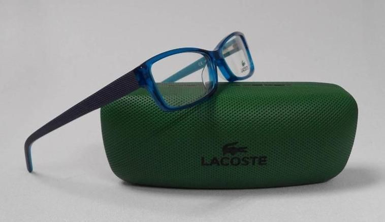 LACOSTE L2603 467 S.53 EYEGLASSES LIGHT BLUE PLASTIC RX FRAME AUTHENTIC 2603 b8423446de