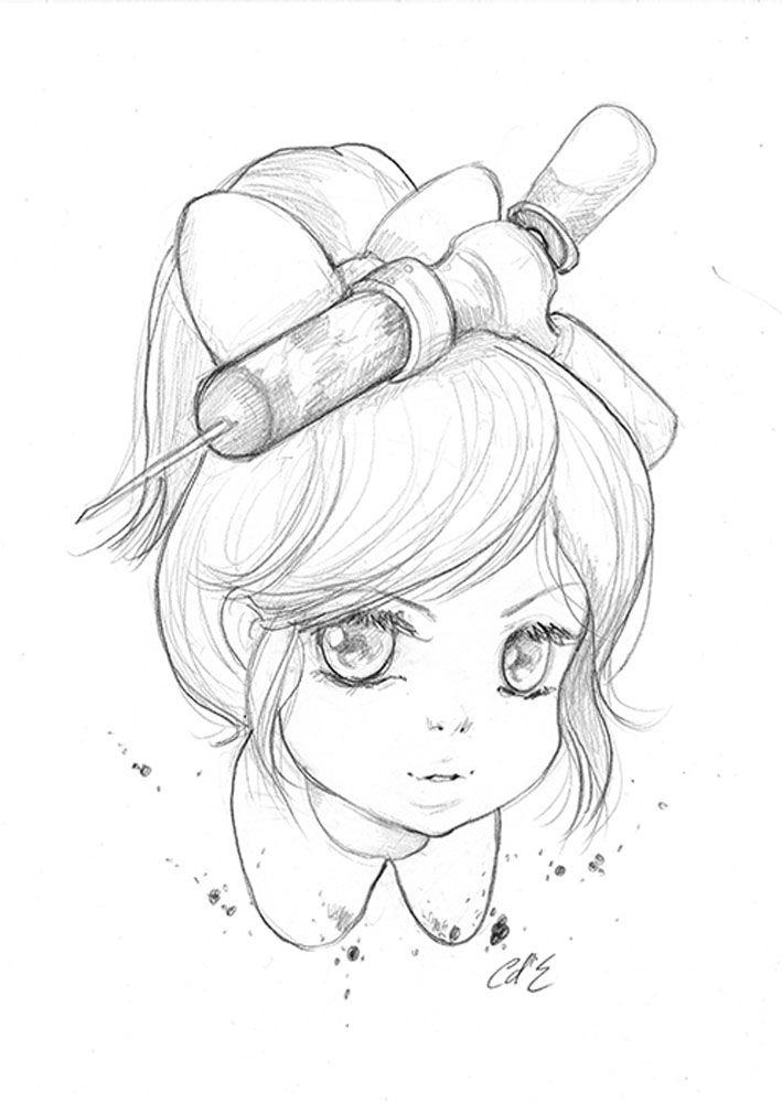 Little Sister Bioshock Sketches Pencil Art Art