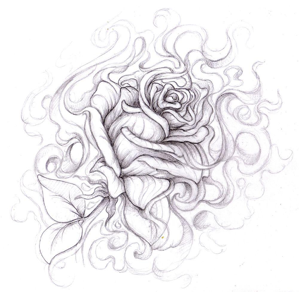 Rose Drawings Magellin Blog A Wicked Rose My Drawing Dreams