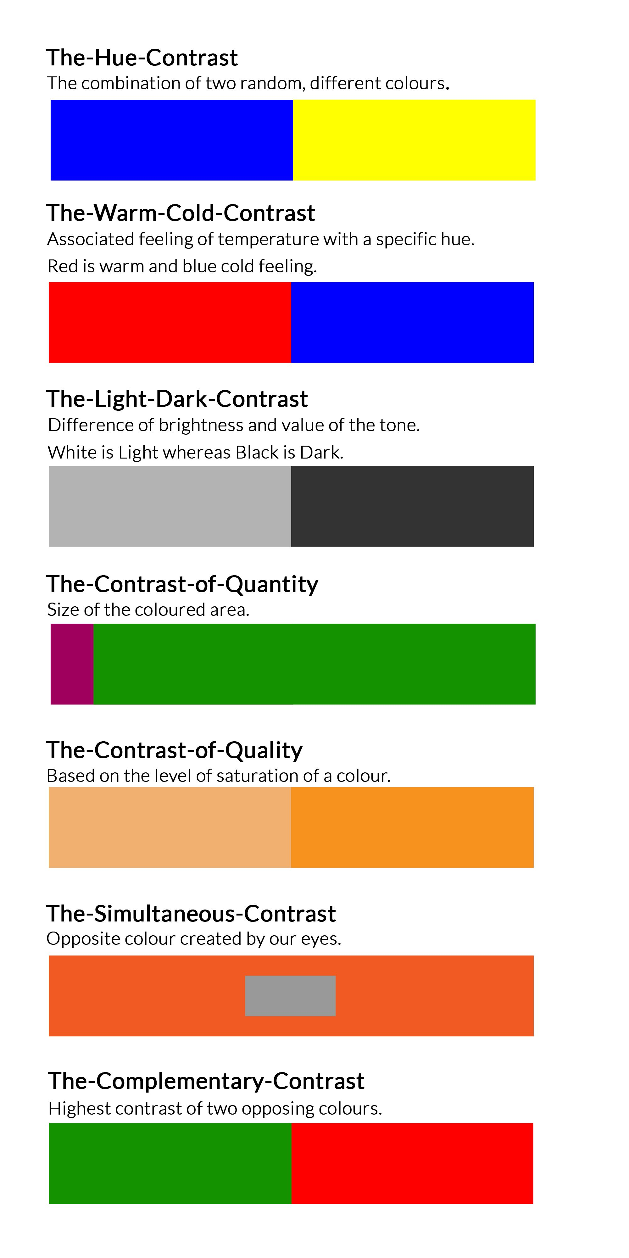 Uncategorized What Colour Contrasts With Blue johannes itten buscar con google art color theory colour and contrasts