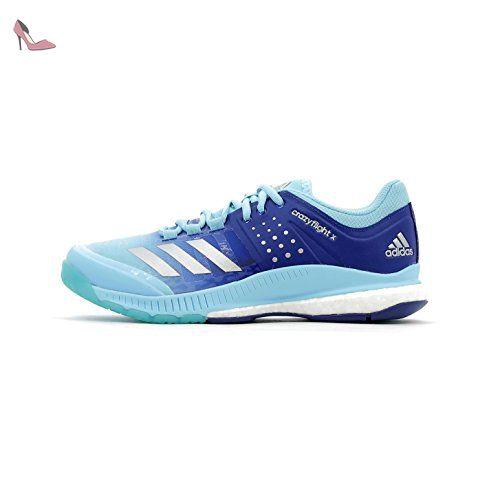 chaussures femme adidas crazyflight x bleu