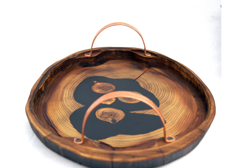 Large Live Edge Tray Acacia Wood Slab Breakfast Tray With Etsy Coffee Table Wood Wood Slab Live Edge Wood [ 2117 x 3000 Pixel ]