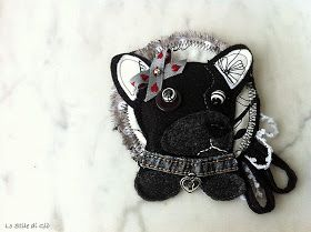 Lo Stile di Giò: spille con animali personalizzate, bau bau micio micio...