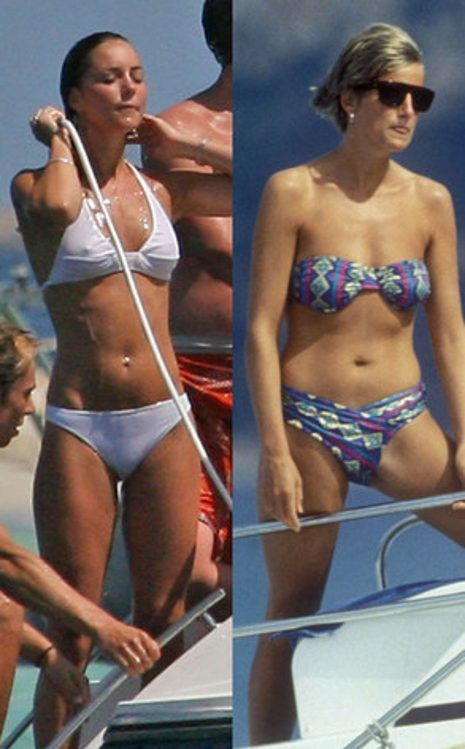 Images Of Princess Diana Swimming Google Search Kate Middleton