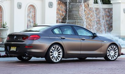 The Bmw 640i Gran Coupe One Of Gayot S Top 10 4 Door Sports Cars