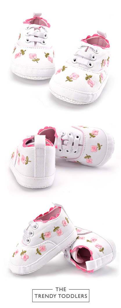 Considerate Cute Toddler Baby Girls Soft Bottom Shoes Polka Dots Bow-knot Prewalker For Kids Baby Shoes