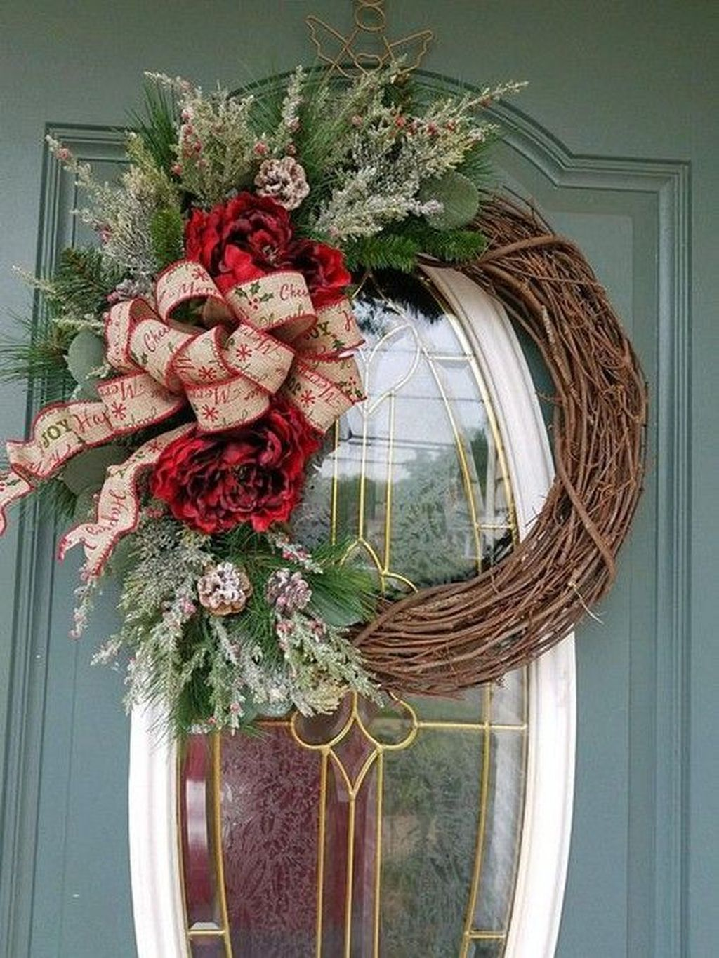35 Gorgeous Christmas Wreaths Design Ideas For Your Front ...