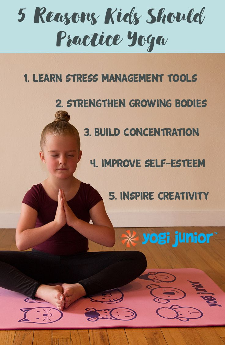What S Your Favorite Reason Inspire Your Child S Practice Today Amzn To 1s8wriv Yoga For Kids Exercise For Kids How To Do Yoga
