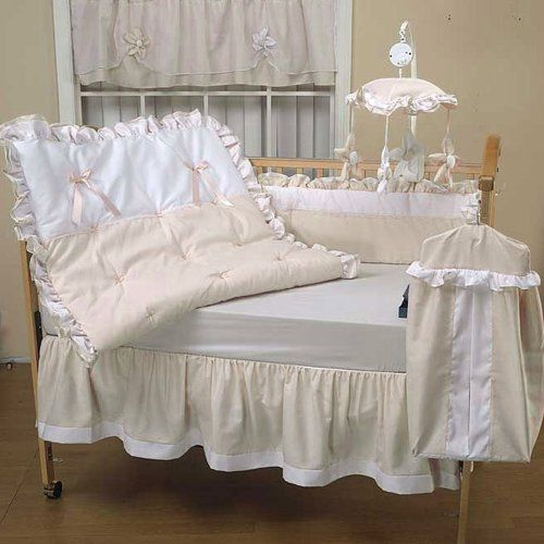 Baby Doll Bedding Regal Pique Crib Set Ivory Babydoll Http