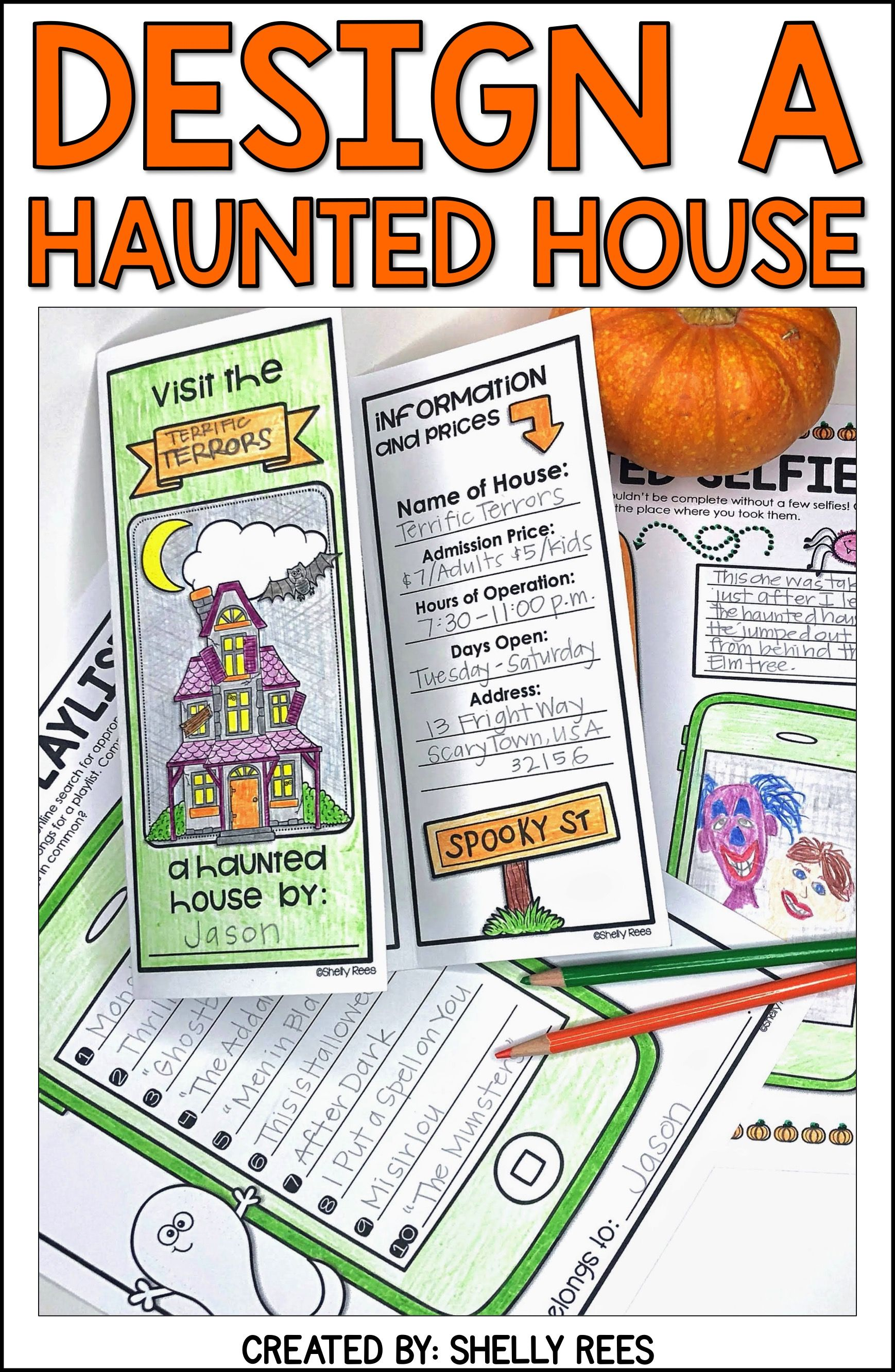 Design A Haunted House Project Based Learning Pbl