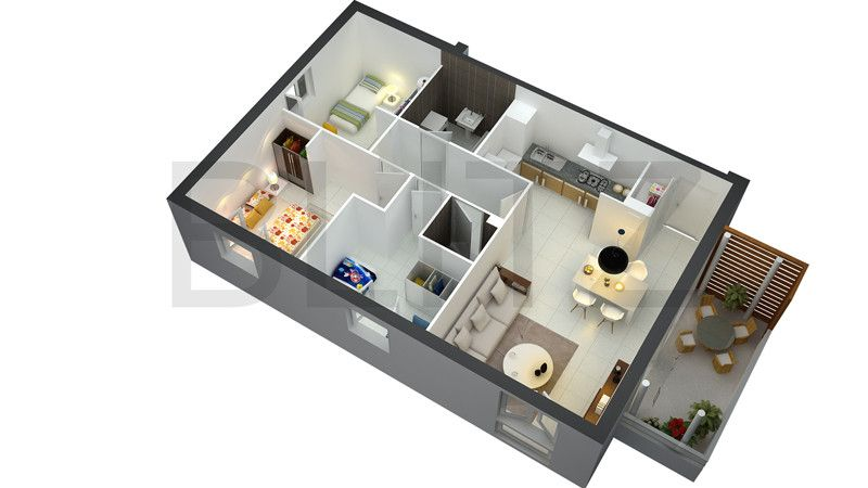 At Blitz 3D Studio We Offer 3d Home Architect Design, Architectural Floor Plans  Design,