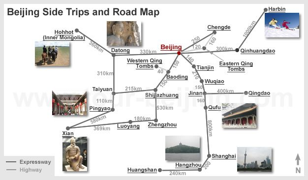 Beijing Side Trips and Road Map Travelling Pinterest Luoyang