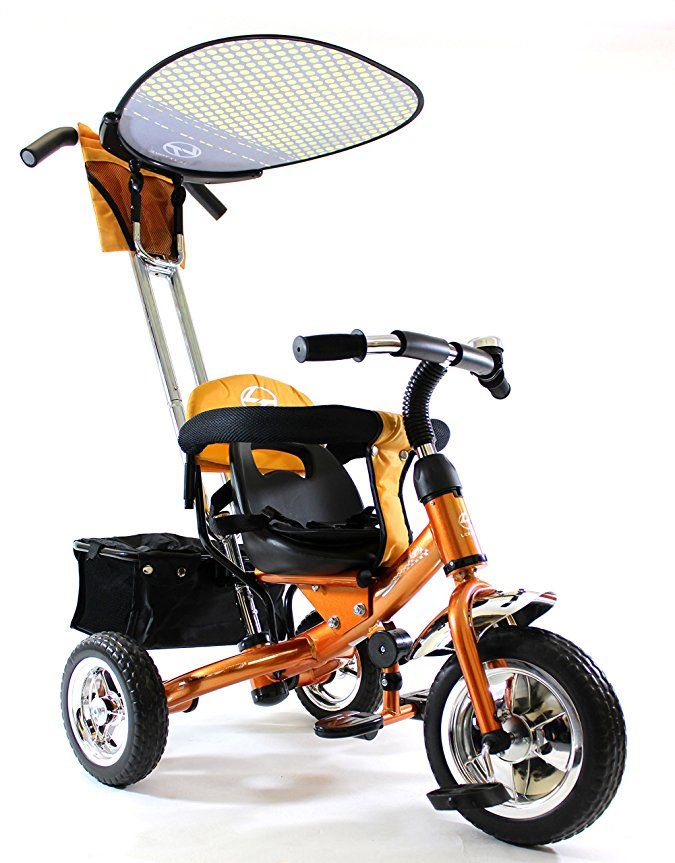 4in1 Lexx Trike Classic Smart Kid's Tricycle 3 Wheel Bike Removable