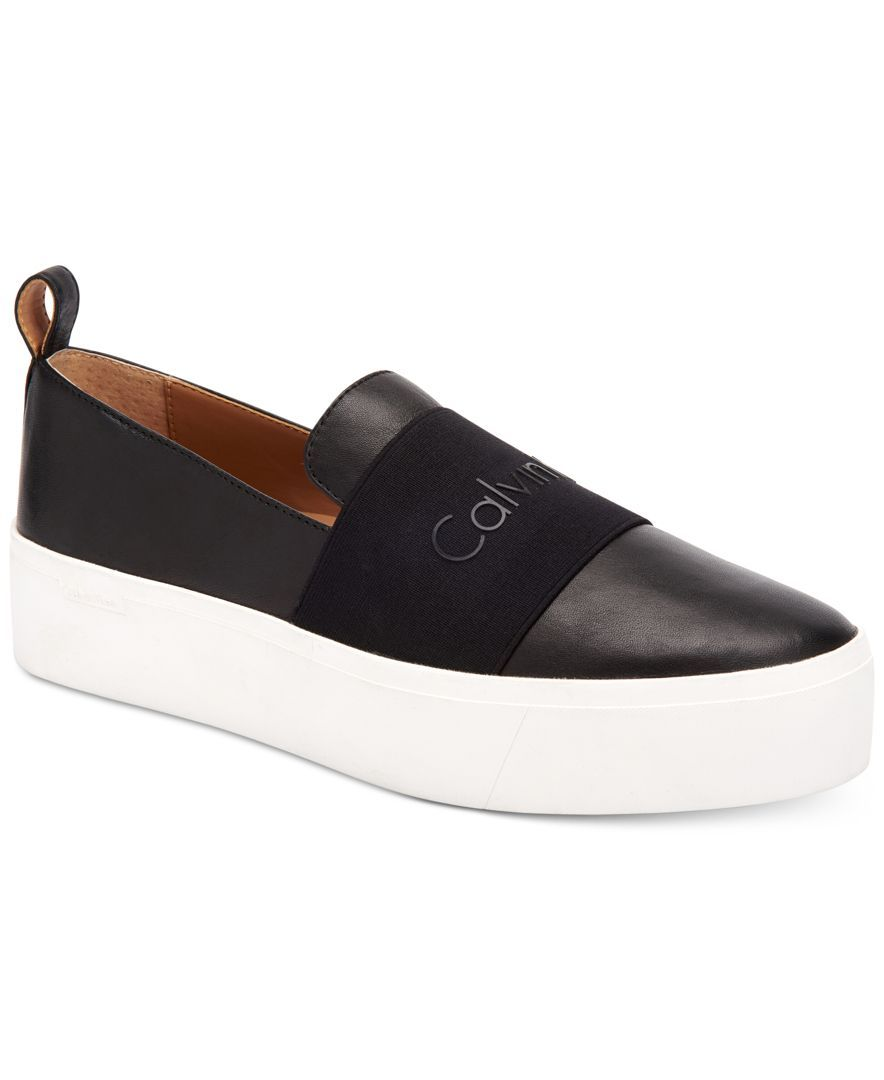 White Elevating Sleek Crisp Platform Casual Merges A With Leather q1B5T5H0