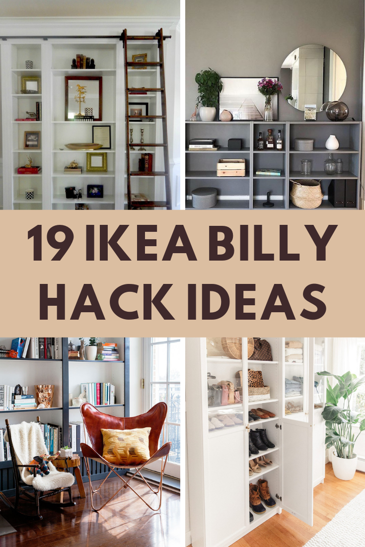 19 Ikea Billy Bookcase Hacks That Are Bold And Beautiful James