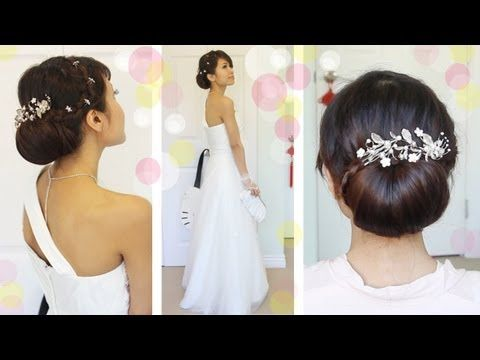 Get Ready With Me Wedding Edition Classic Bridal Updo Tutorial - Classic elegant hairstyle