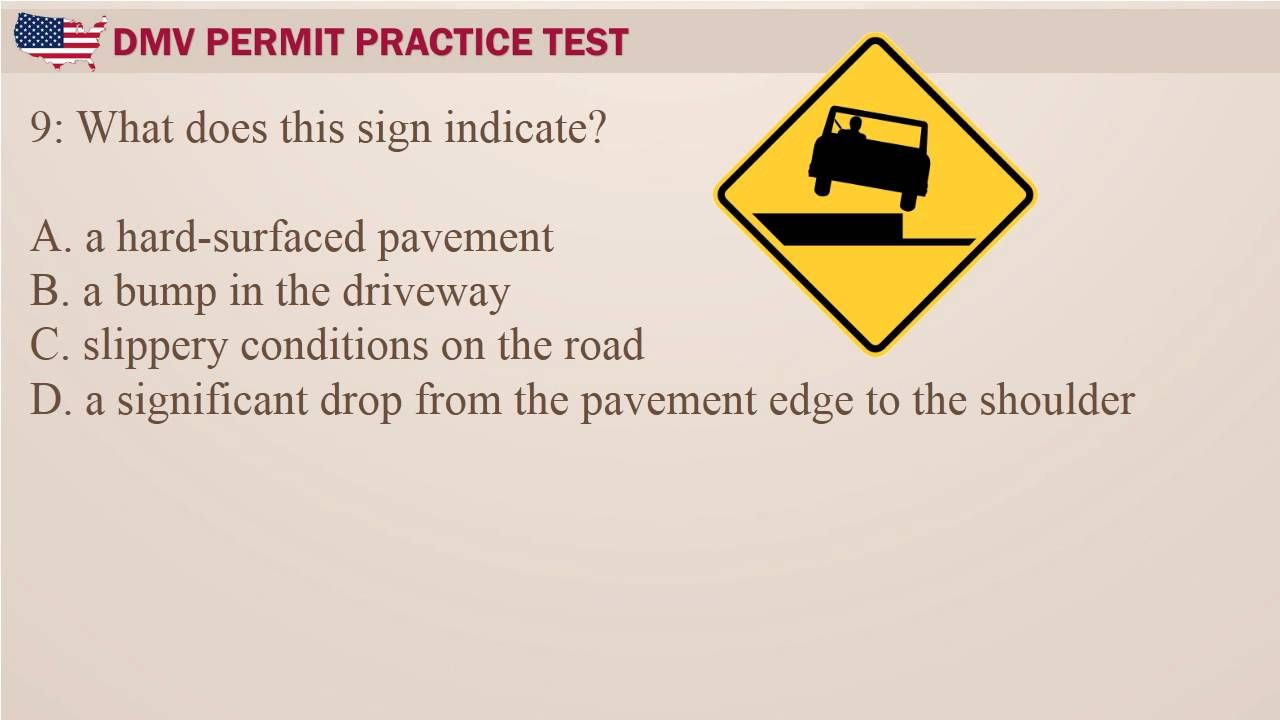 Pin on DMV Permit Practice Test