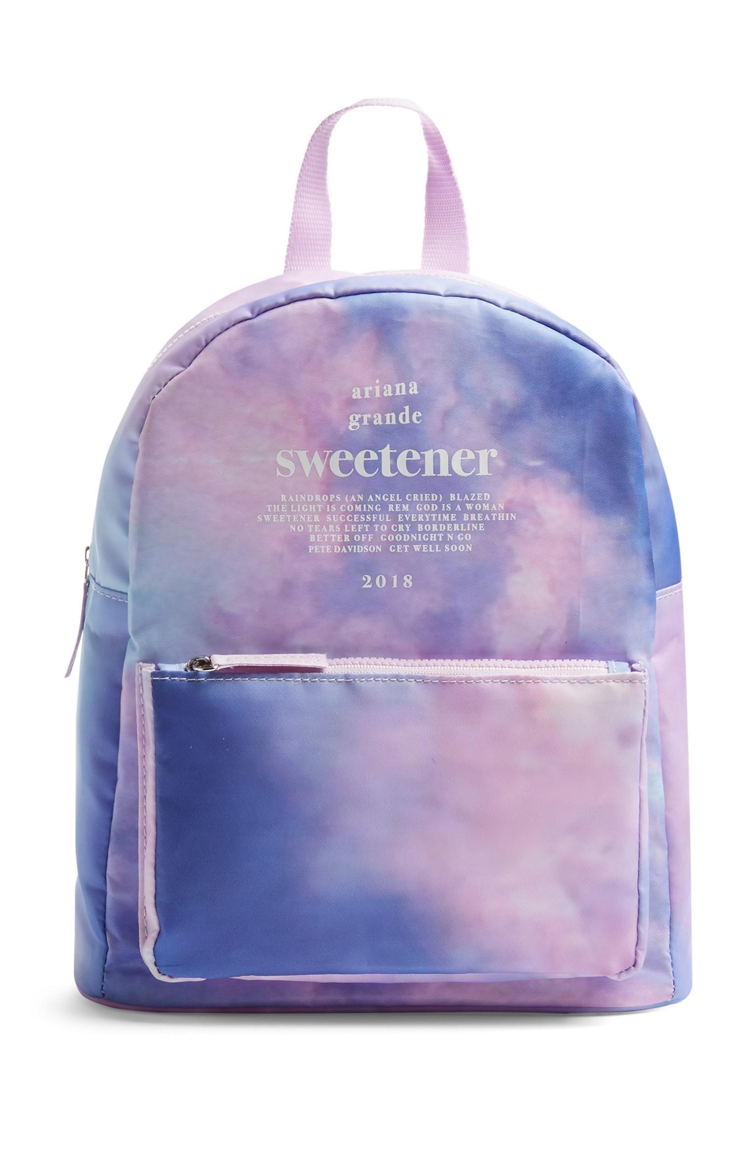 Ariana grande sweetener backpack in 2020 ariana grande