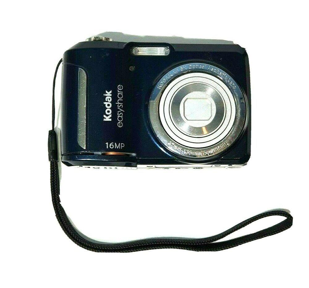 Kodak Easyshare C1550 16 0mp Digital Camera Blue Tested And Works Kodak Kodak Digital Camera Digital Camera Kodak Easyshare