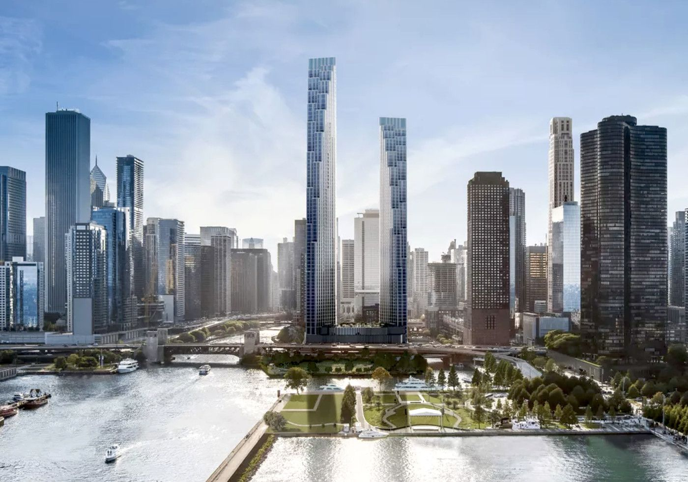 The new skyscrapers changing Chicago's skyline