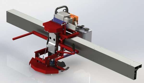 Swing blade sawmill plans for sale