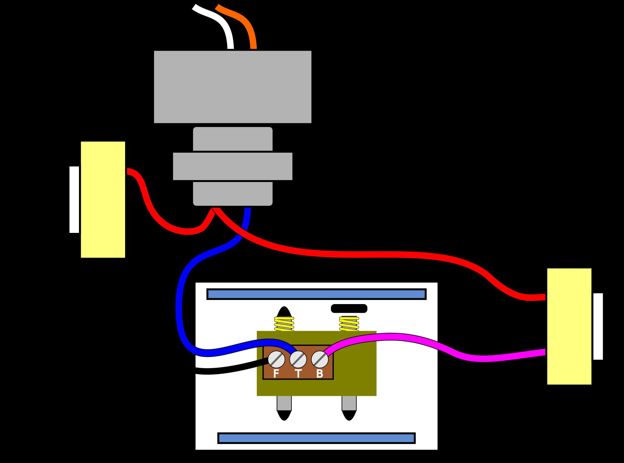 doorbell wiring pictorial diagram eee electrical projects rh pinterest ca Wired Doorbell Chimes Doorbell Wire Connection Diagram
